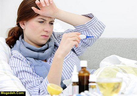 رفع سرماخوردگی مادران شیرده