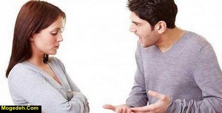 برخورد با شوهر بددهن
