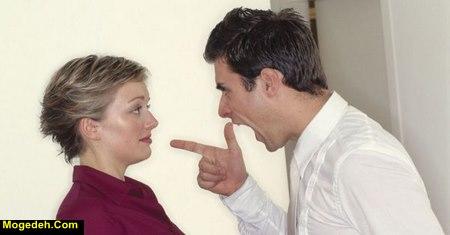 رفتار با همسر پرخاشگر