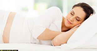 فیلم خوابیدن صحیح در بارداری