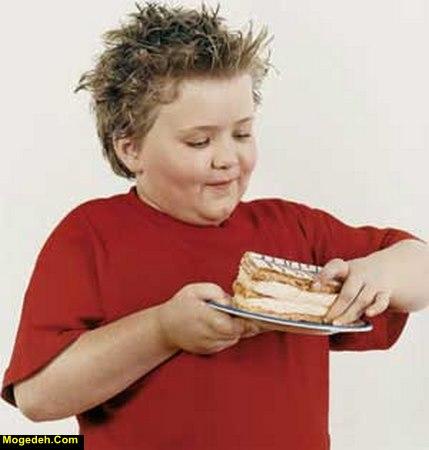 درمان چاقی کودکان زیر هفت سال