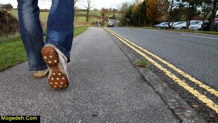 طرز صحیح راه رفتن
