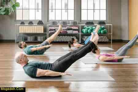 ورزش پیلاتس و لاغری