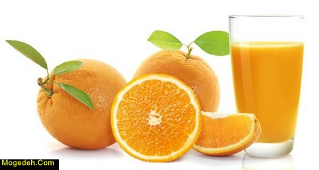 خواص آب پرتقال و لیمو شیرین