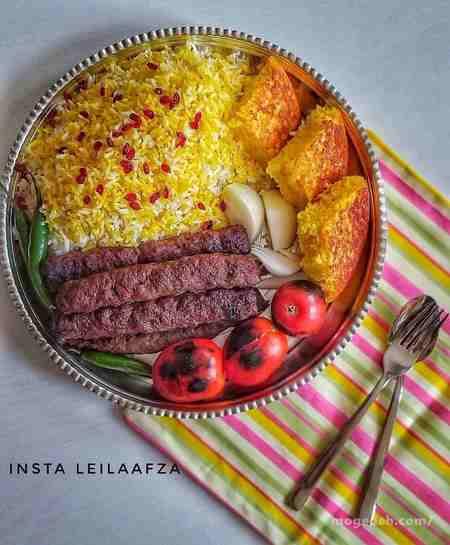 طرز تهیه ی کباب کوبیده خانگی در ماهیتابه