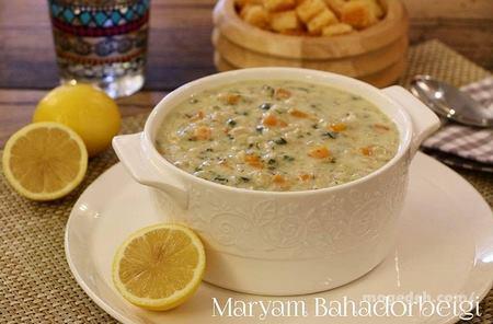 طرز تهیه ی سوپ جو پرک