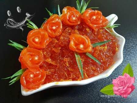 طرز تهیه مربای هویج شفاف