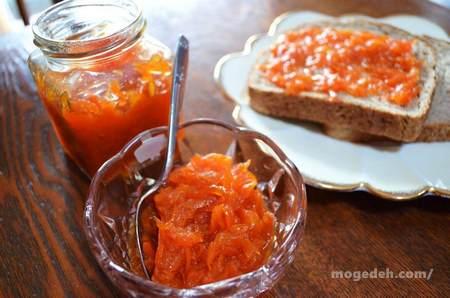 طرز تهیه مربای هویج با پیمانه