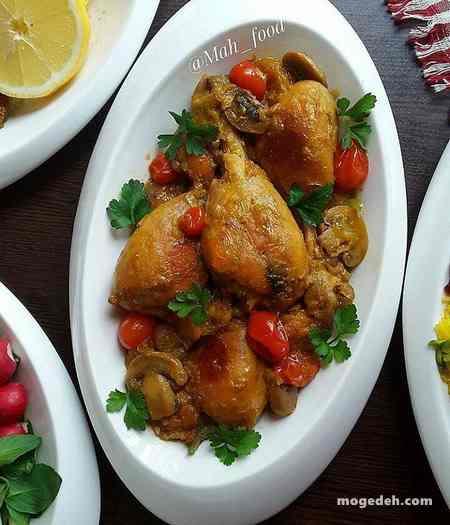 انواع خورشت با مرغ
