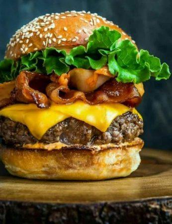 همبرگر خونگی