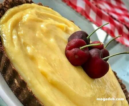 طرز تهیه تارت میوه با بیسکویت