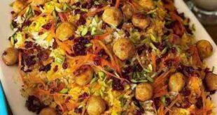 طرز تهیه هویج پلو دو نفره