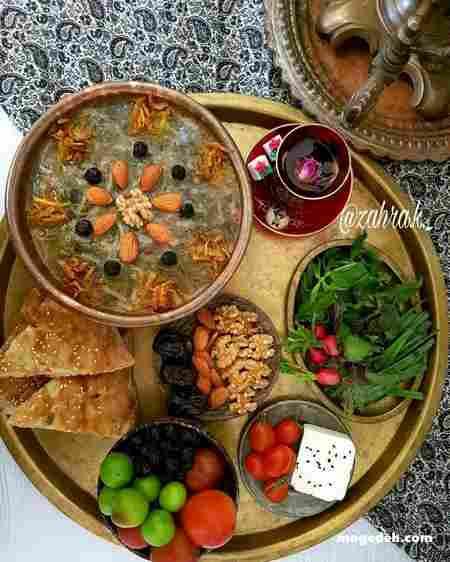 طرز تهیه آش میوه اردبیل