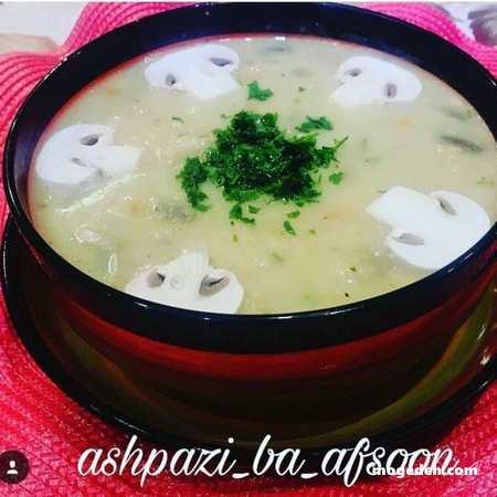 طرز تهیه سوپ بلغور شیر